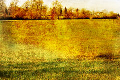 Old-fashioned landscape Stock Photography