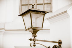 Old-fashioned lantern Royalty Free Stock Photography