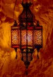 Old fashioned lantern lamp Stock Photography