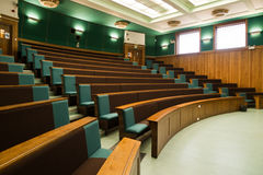 Old fashioned lecture room Royalty Free Stock Photography