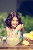 Old fashioned lemonade stand Stock Photography