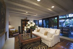 Old Fashioned Living Room In House Stock Photos - Image: 33895063