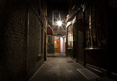 Old Fashioned London Alleyway stock image