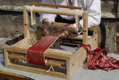 old fashioned loom Stock Photography