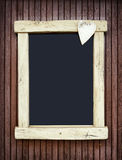 Old fashioned menu board Stock Photography