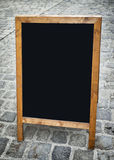 Old fashioned menu board Royalty Free Stock Photography
