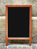 Old fashioned menu board Stock Photos