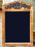 Old fashioned menu board Royalty Free Stock Photos