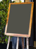 Old fashioned menu board Stock Image