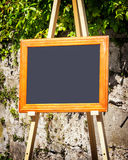 Old fashioned menu board Royalty Free Stock Image