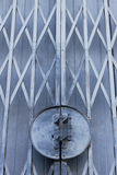 Old fashioned metal door Royalty Free Stock Image