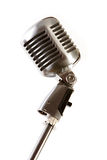 Old-fashioned microphone Royalty Free Stock Photos