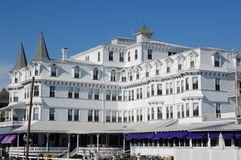 An old fashioned New Jersey seashore hotel Stock Photography