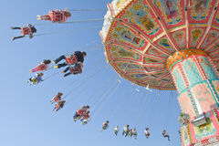 Old Fashioned Octoberfest Carousel Stock Photography