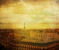 Old-fashioned paris royalty free stock photography