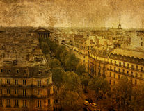 Old-fashioned paris Royalty Free Stock Photos