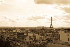 Old-fashioned paris Royalty Free Stock Image