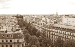 Old-fashioned paris Royalty Free Stock Images