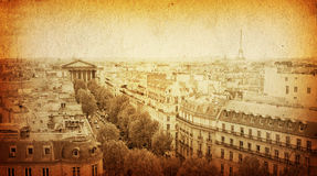 Old-fashioned paris france Royalty Free Stock Photography