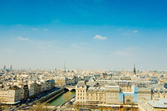 Old-fashioned paris france stock images