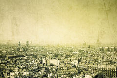 Old-fashioned paris. France - with space for text or image royalty free stock photos