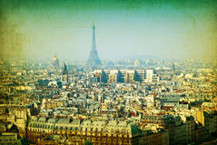 Old-fashioned paris Stock Images
