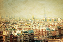 Old-fashioned paris france Stock Image