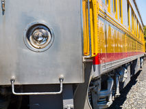 Old-Fashioned Passenger Train Royalty Free Stock Photos