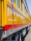 Old-Fashioned Passenger Train Royalty Free Stock Photo