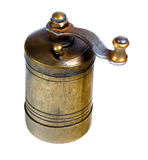 Old-fashioned pepper ,spice, coffee mill Royalty Free Stock Photos