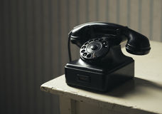 Old-fashioned phone Stock Images