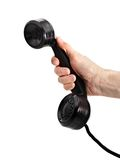 Old-fashioned phone handset Royalty Free Stock Photos