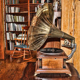 Old Fashioned Phonograph Royalty Free Stock Photo