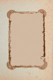 Old-fashioned photo frame Royalty Free Stock Image