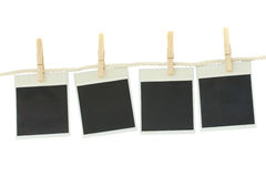 Old fashioned photo paper Stock Images