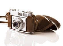 Old fashioned photography camera Royalty Free Stock Images