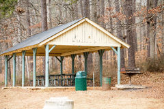 Old Fashioned Picnic Pavilion At Park Stock Photos