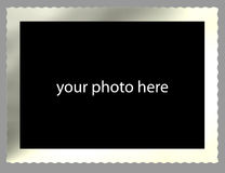 Old fashioned picture border Stock Images
