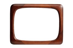 Old fashioned picture frame Stock Photos