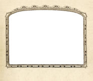 Old fashioned picture frame horizontal Royalty Free Stock Photography