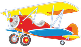 Old-fashioned Plane Stock Photography