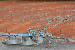 Old fashioned plough Royalty Free Stock Photo
