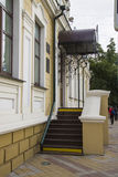 Old fashioned porch at Krasnaya street. Krasnodar Royalty Free Stock Images