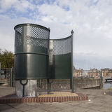 Old fashioned public toilet in amsterdam Royalty Free Stock Photo
