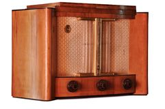 Old fashioned radio Stock Photography