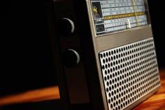 Old-fashioned radio Stock Photos