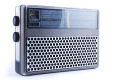 Old-fashioned radio Royalty Free Stock Photo