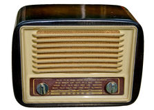 Old-fashioned radio Royalty Free Stock Photos