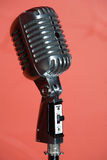 Old fashioned retro microphone Royalty Free Stock Photography