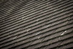 Thatched Roof Titles Pattern. Old fashioned roofing on steep roof Royalty Free Stock Image